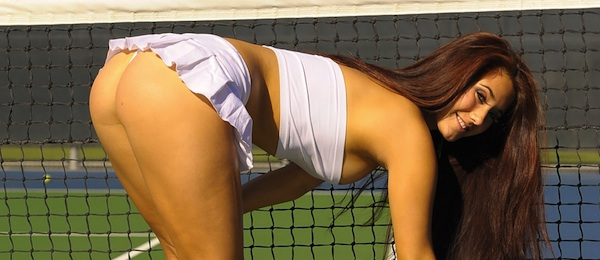 Eva Lovia Naked Tennis