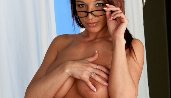 Nikki Sims - Tank and Glasses