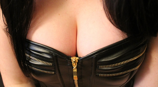Freckles 18 - Leather Corset