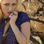 Lily XO - Sheer Blouse