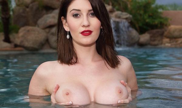 Amber Hahn - Poolside Stunner