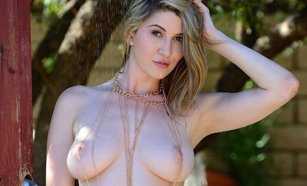 Amber Hahn - Outdoor Shower