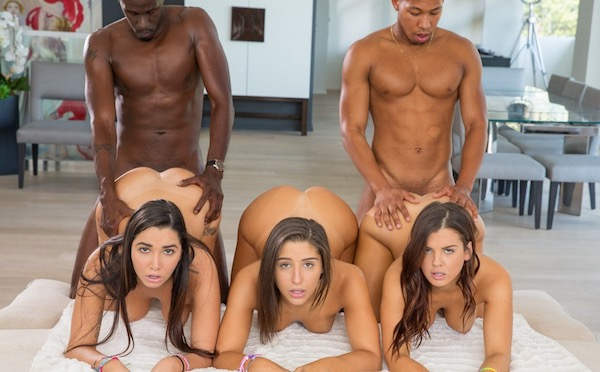 BLACKED - Karlee Grey, Keisha Grey, Abella Danger