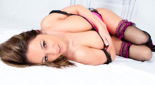 Nikki Sims - Pink Corset