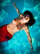 carlotta-champagne-naked-mermaid