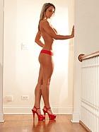 nikki-sims-red-dress