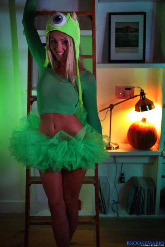 boob junkie brooke marks halloween costume