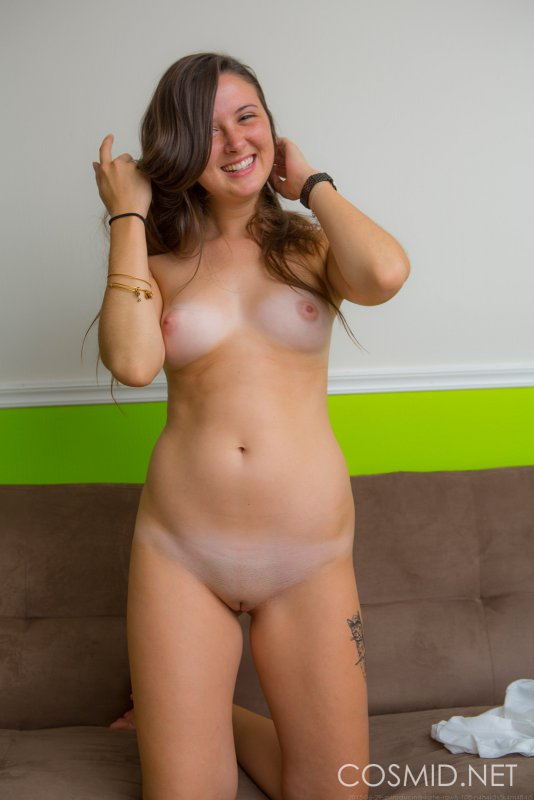 homemade wife in stockings and suspenders